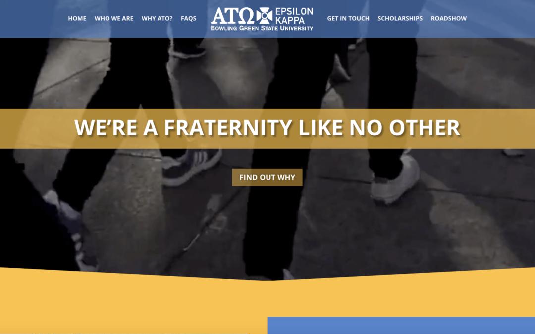 Alpha Tau Omega Website