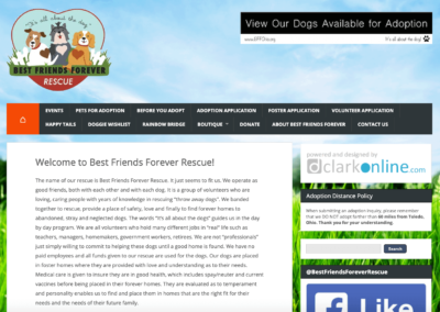 Best Friends Forever Rescue Website