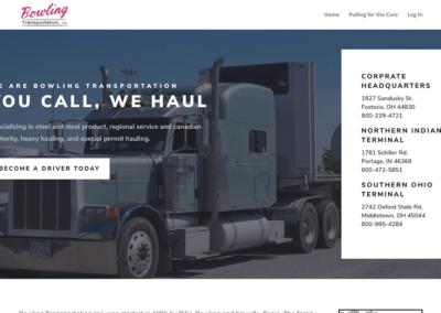 Bowling Transportation Website