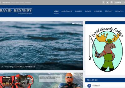 David Kennedy Fishing Website