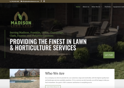 Madison Lawn Care Website