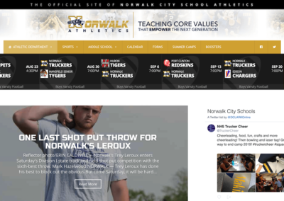 Norwalk City School Athletics Website