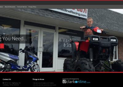 Redline Racing Website