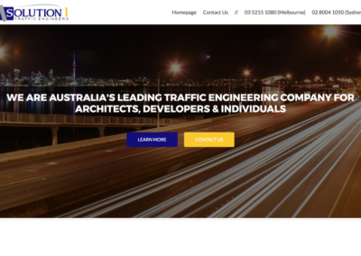 Solution 1 Traffic Australia Website