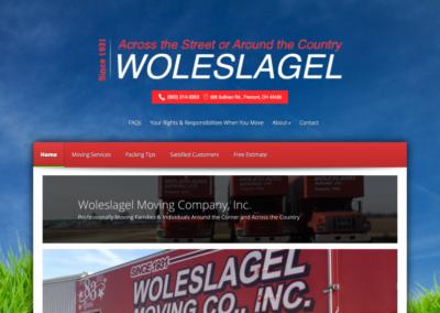 Woleslagel Moving Company Website