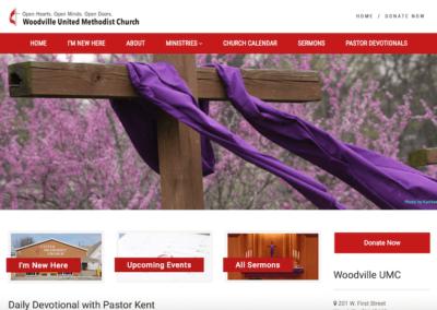 Woodville United Methodist Website