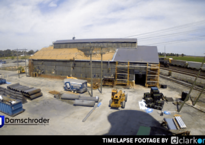 Morgan AMI Damschroder Roofing Project Timelapse Video